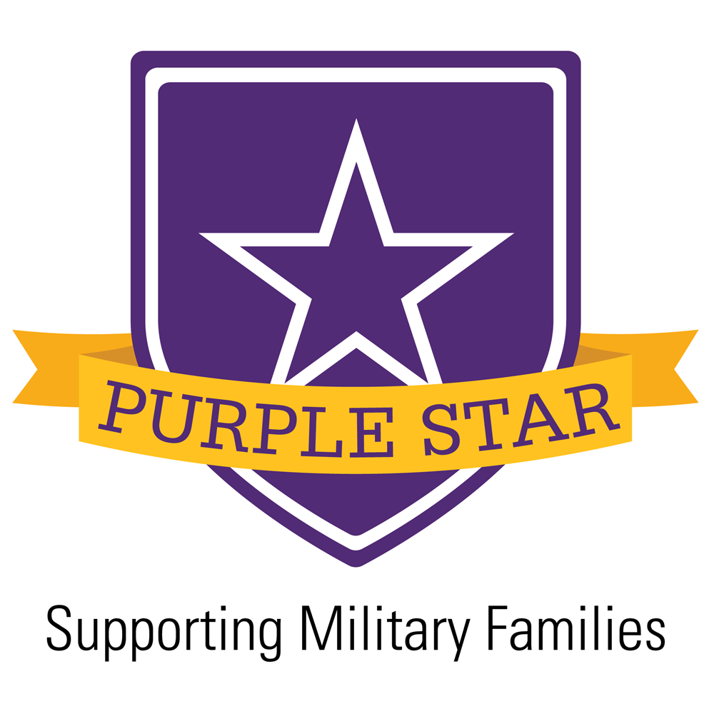 Herberich receives The Purple Star Award